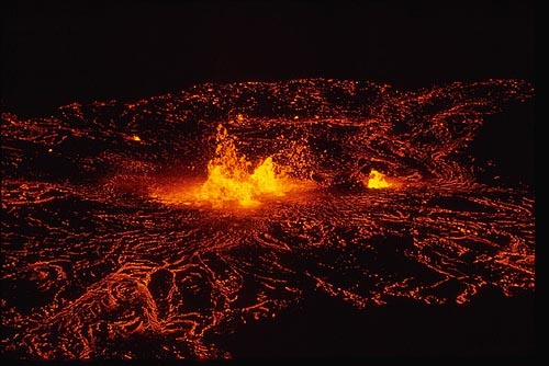 Kilauea, en Hawaii