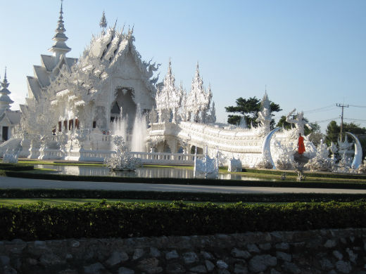 Templo Blanco Tailandia