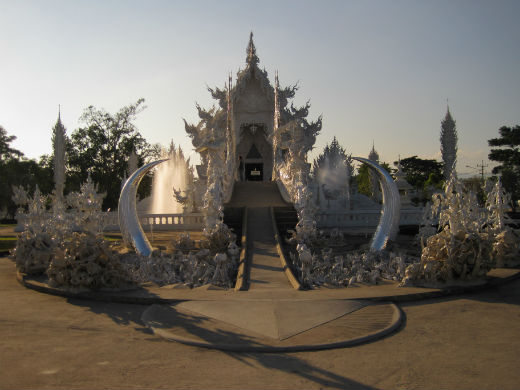 Templo Blanco Tailandia 2