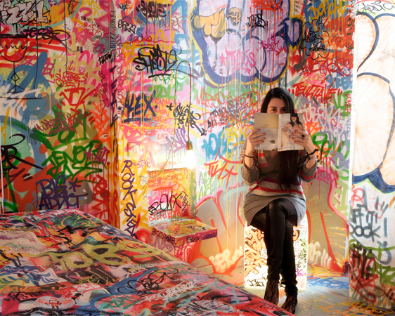 Hoteles raros au vieux panier marsella mundo turistico - Graffitis para habitaciones ...