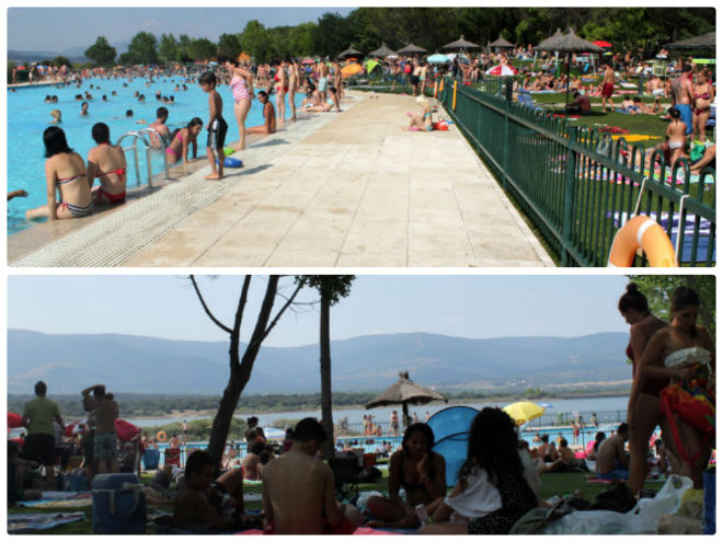 Un d a en las piscinas naturales de riosequillo en for Piscina de buitrago de lozoya 2017