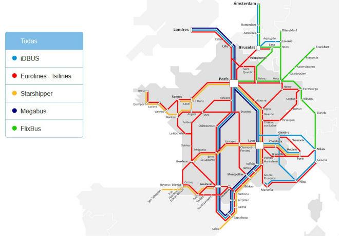 francia rutas bus 2