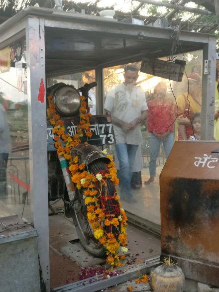 moto-sagrada-india