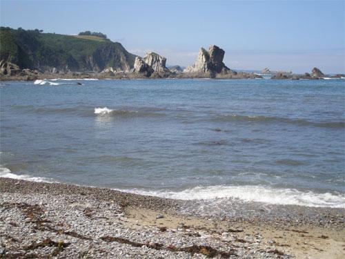 Playa del Silencio, en Cudillero