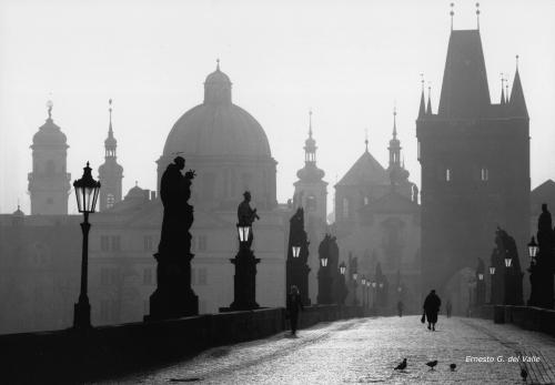 Puente Carlos, en Praga