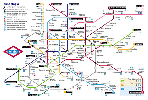 Mundo Turistico Metro De Madrid