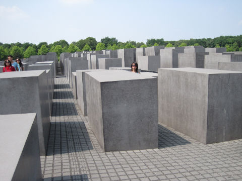 Monumento a los judíos en Berlín
