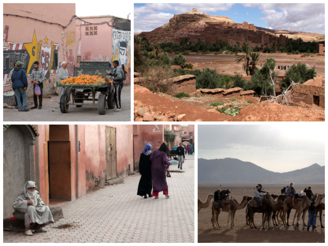 collage-morroco