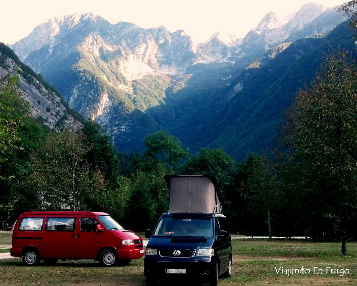 Valle del Soca - Eslovenia