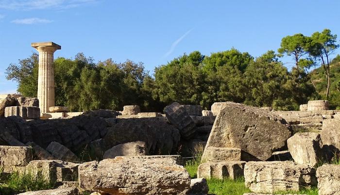 olimpia visita grecia