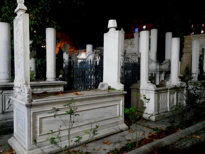 Mahmut II cementerio