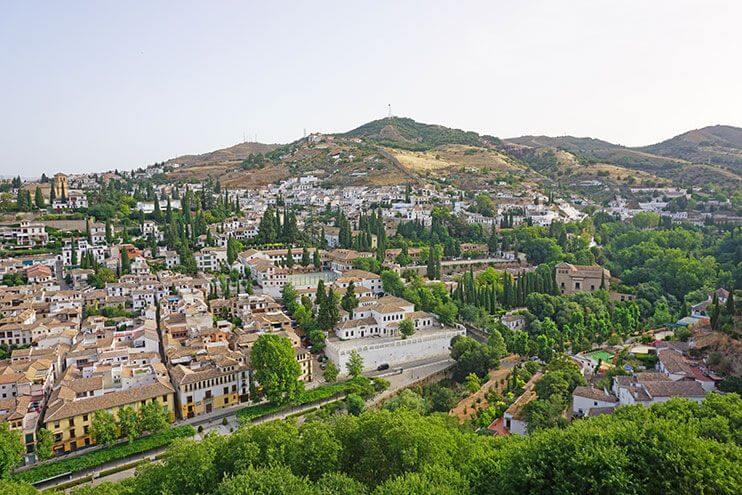 Mirador de la Alhambra Torre de la Vela